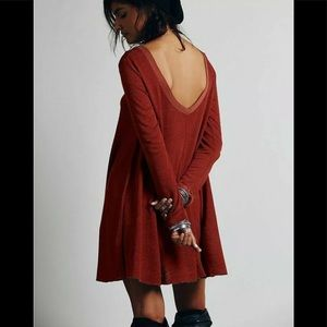 Free People fall ready!  Tunic dress S see meas